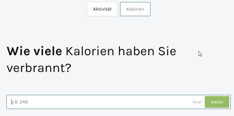 kcal_eintrragen